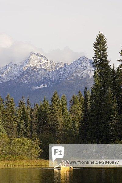 Bowron Lake Provincial Park  British Columbia  Kanada.