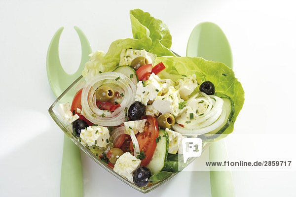 Gemischter Salat nach griechischer Art