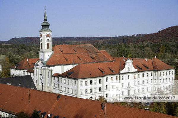 Germany  Bavaria  Schäftlarn Monastery