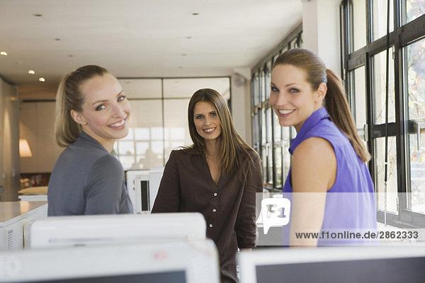 Drei Frauen im Amt