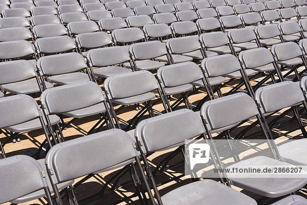 Leere Sitze  Nahaufnahme
