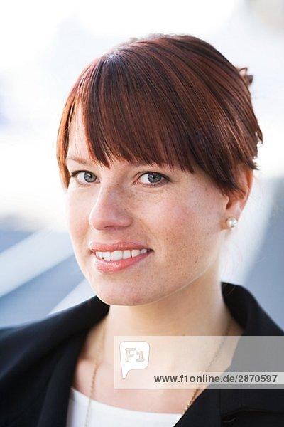 Portrait of a woman Sweden.
