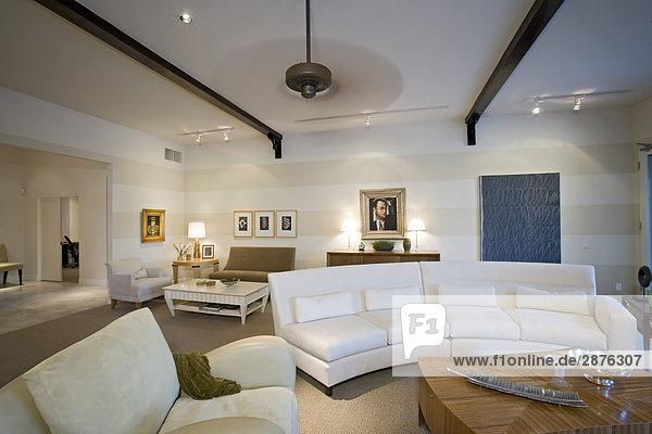 Luxuriöses Innendesign  Wohnzimmer