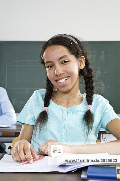 Portrait einer Schülerin