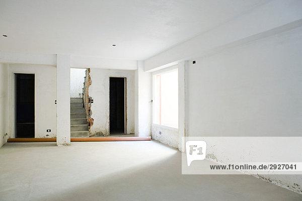 Interieur der Wohnung in Renovierung