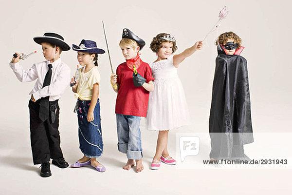 Party Kinder im Kostüm Party Kinder im Kostüm
