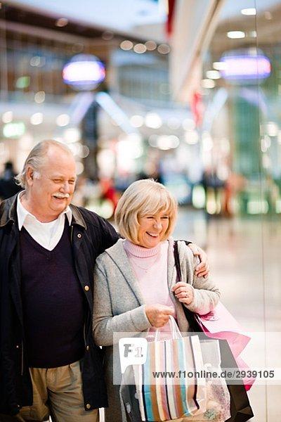 älteres Paar gehören Stockholm Schweden.