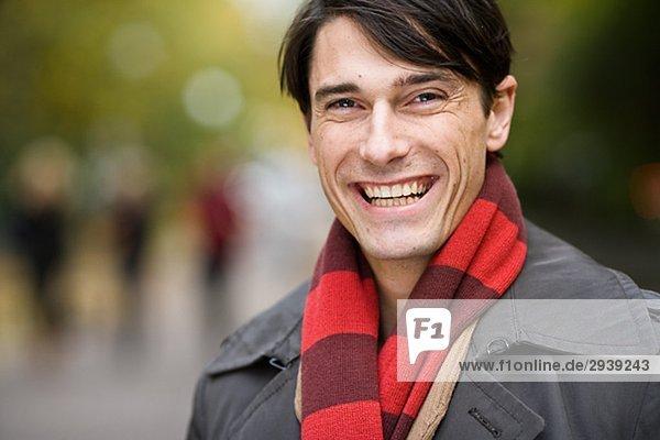 Portrait von einem Mann-Schweden.