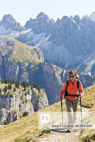 Puez-Geisler  Dolomiten  Italien