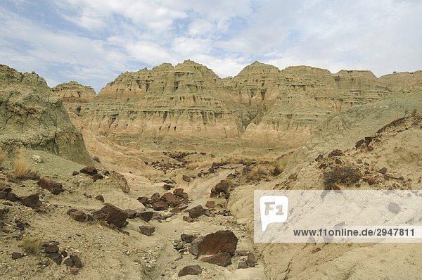 Das Becken blau an der John Day Fossil Beds National Monument  Oregon