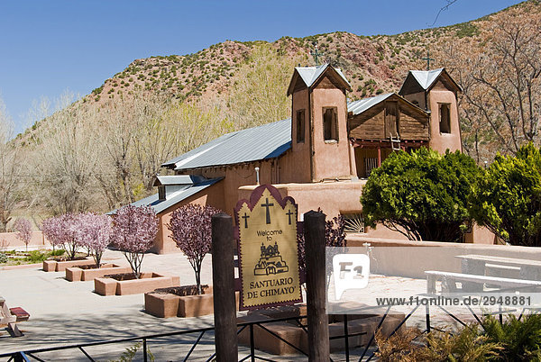 Santuario de Chimayo  Sanctuary  New Mexico