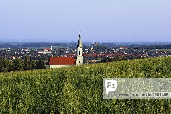 Landscape in upper Bavaria near Haag  Germany