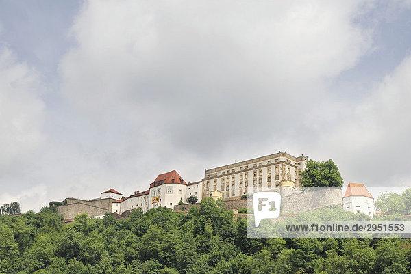 Veste Oberhaus  Passau  Niederbayern  Bayern  Deutschland  Europa