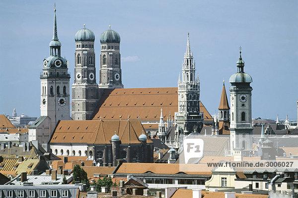 Cityscape of Munich  Bavaria  Germany Cityscape of Munich, Bavaria, Germany