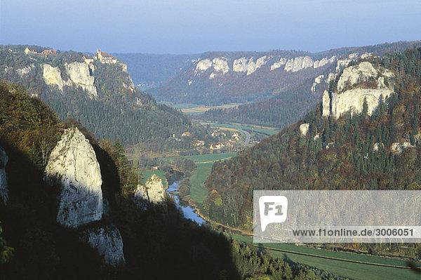 Donautal  Schwäbische Alb  Baden-Württemberg  Deutschland