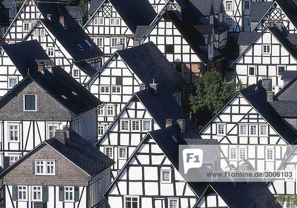 Fachwerkhäuser  Freudenberg im Siegerland  Nordrhein-Westfalen  Deutschland