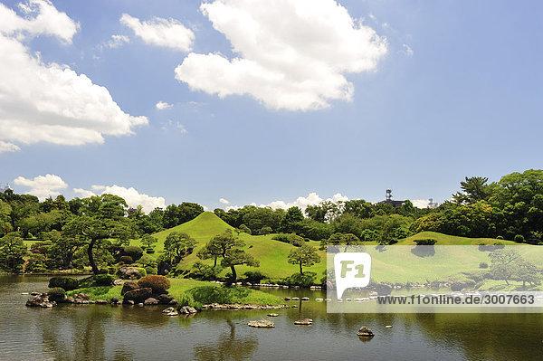 10853646  Suizenji Jojuen Garten  Kumamoto  Kumamo
