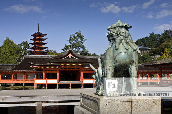 10854715  Japan  Asien  Hiroshima Provinz  Miyajim