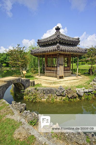10856518  Japan  Shikinaen  Shuri  Naha City  Okin