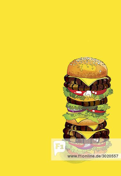Großer Hamburger