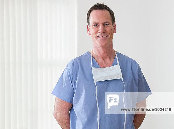 Porträt eines Chirurgen