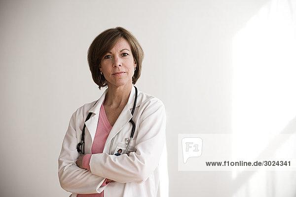 Porträt eines Arztes