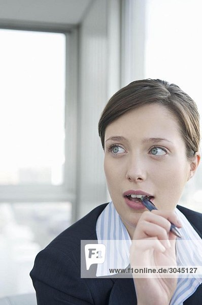 Ein Porträt einer Geschäftsfrau