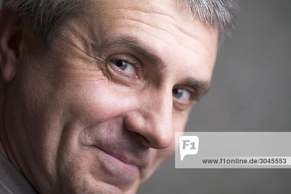 Porträt von lächelnd mann