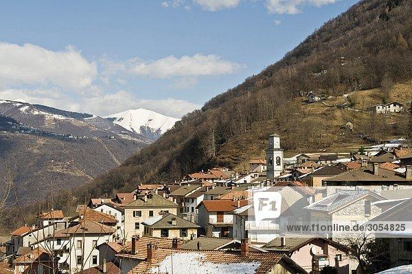 Italy  Lombardy  Val d'Intelvi  Schignano
