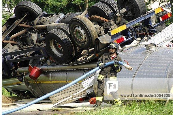 Verkehrsunfall Unfall Kollision Italien