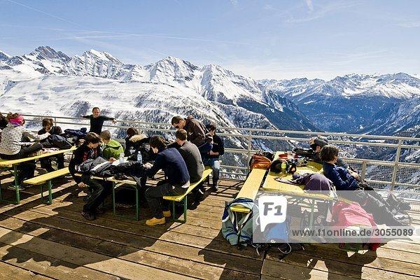 Montblanc Mont Blanc Aostatal Italien