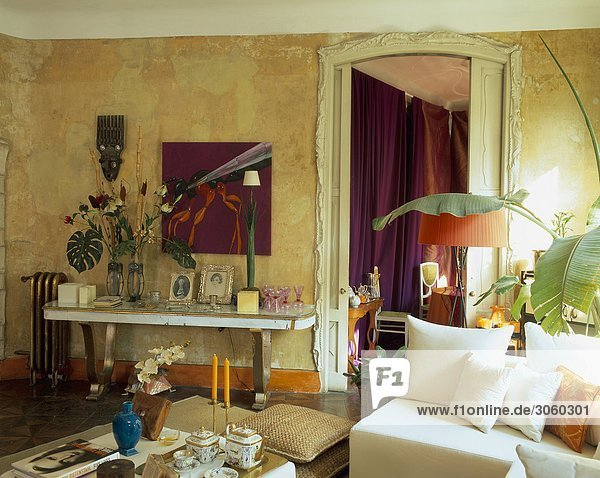 Zimmer Dekoration schmücken Ansicht Wohnzimmer