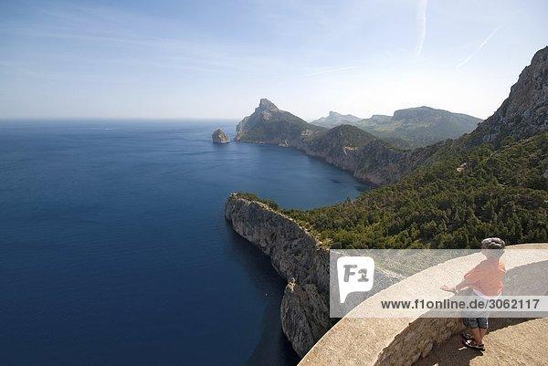 Westküste der Insel Mallorca