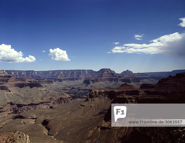 Blick auf dem Grand Canyon in den Vereinigten Staaten von Amerika