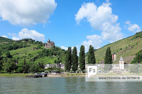 Landschaft rund um den Rhein