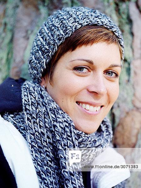 Portrait of a Scandinavian woman Sweden