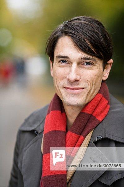 Portrait of a man Sweden.