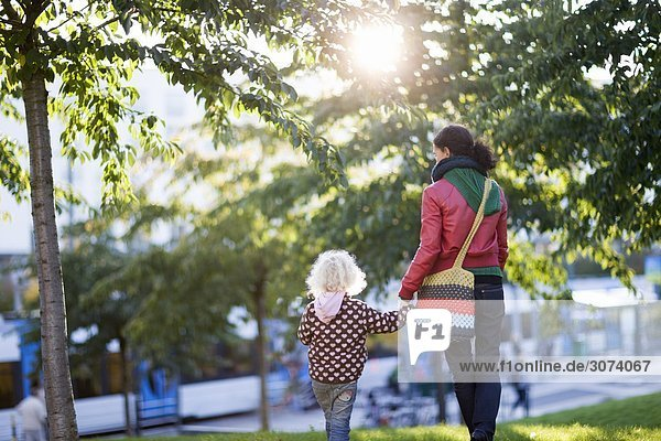 A mother and daughter being together Sweden.