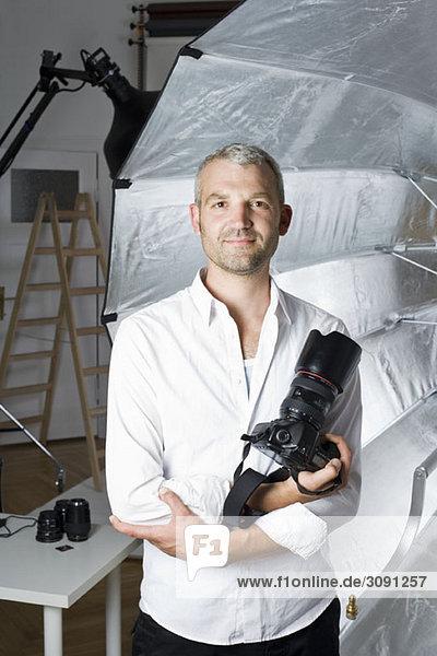 Portrait eines Fotografen
