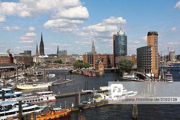 Hafen  Hamburg  Deutschland