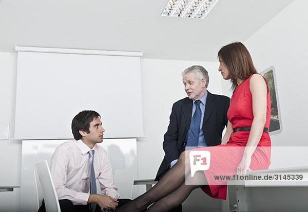 zwangloses Gruppentreffen