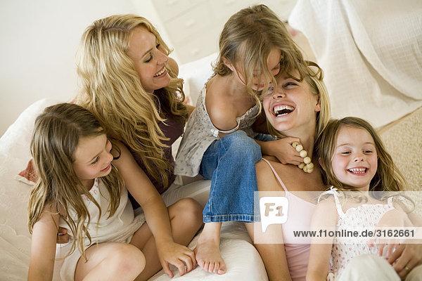 Interior  zu Hause  2  Tochter