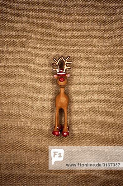 Ein Tier Toy Brow Hintergrund Dänemark.