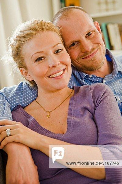 Porträt eines Paares  Schweden.