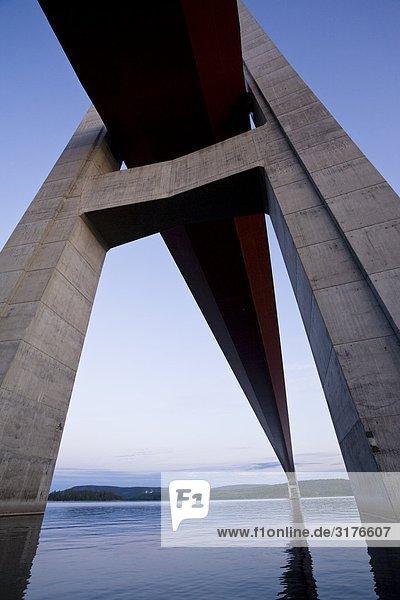 Die High Küste Bridge  Angermanland  Schweden.
