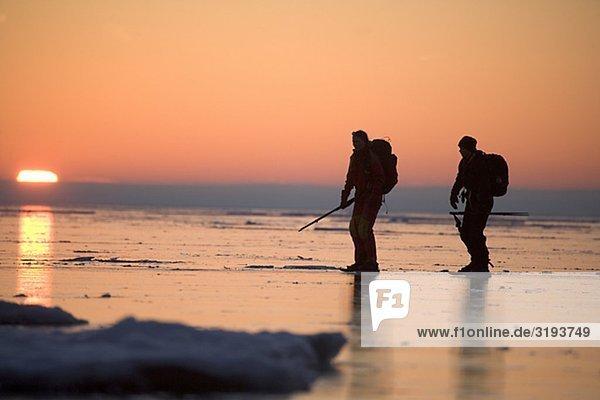 Fern Eislaufen  Schweden.