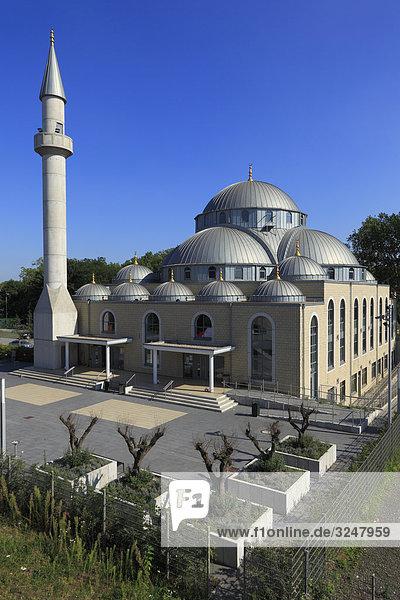 Moschee in Duisburg  Deutschland  Erhöhte Ansicht Moschee in Duisburg, Deutschland, Erhöhte Ansicht