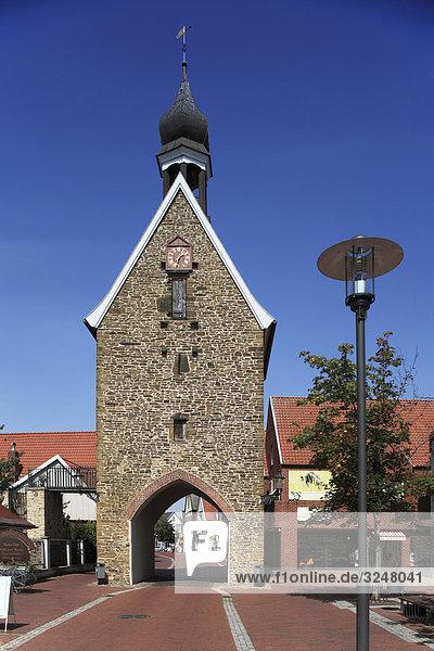 Stadttor in Quakenbrück  Deutschland