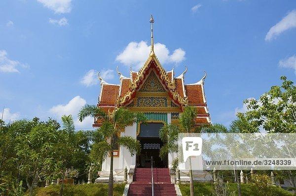 Wat Phra Tong Tempel  Phuket  Thailand