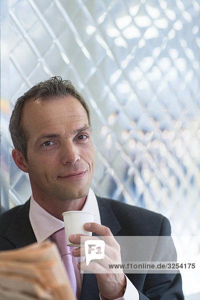 Portrait eines Kaufmanns  Schweden.